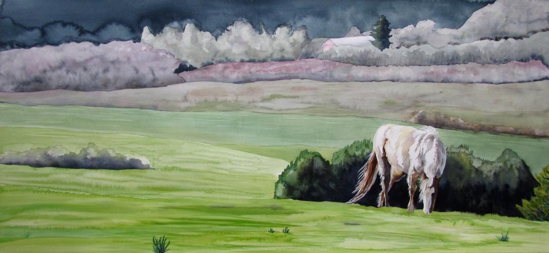 Horse on a Hill.JPG